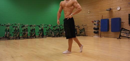 Side Pose Men's Physique 2015