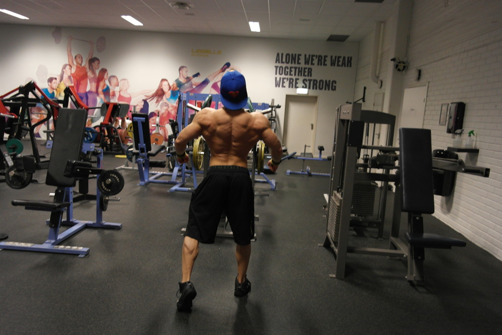 Pontus Koskelainen Men's Physique Back