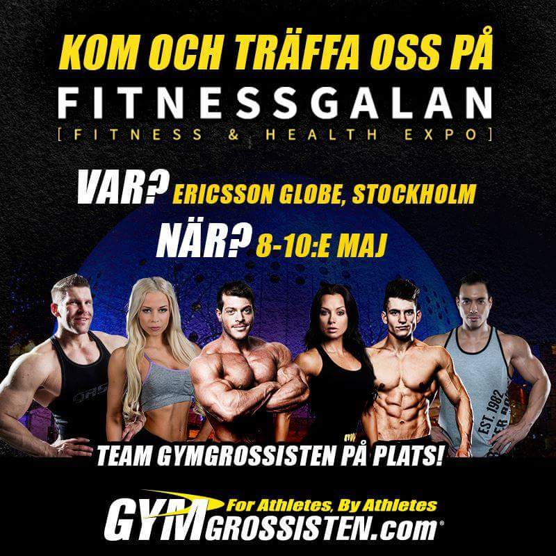 Fitnessgalan Team Gymgrossisten