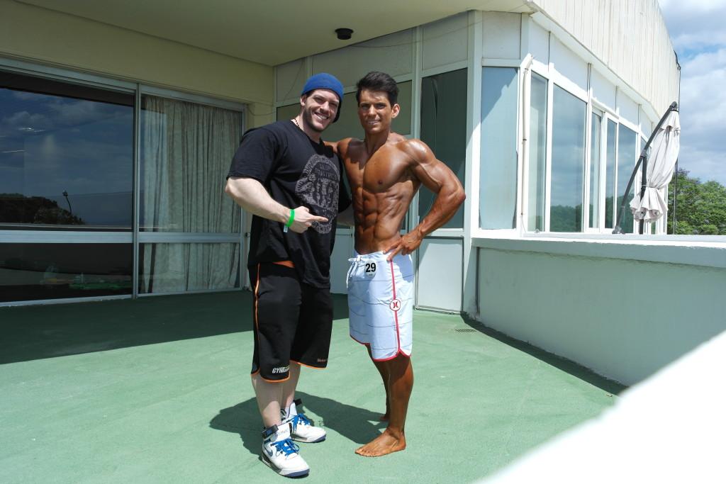 Efter Olympia Amateur Spain med coach de la Rua