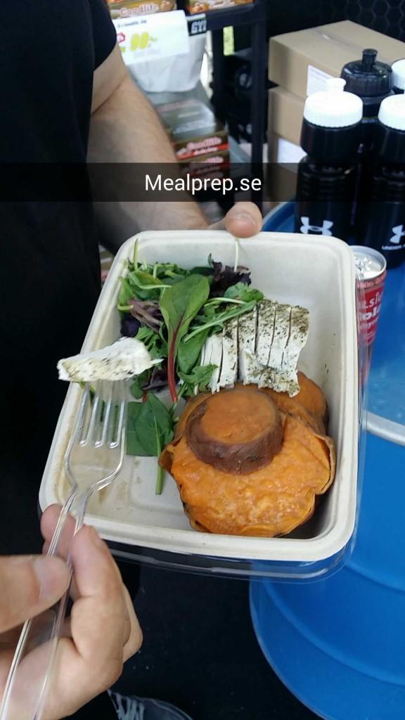 Kyckling och sötpotatis mealprep.se