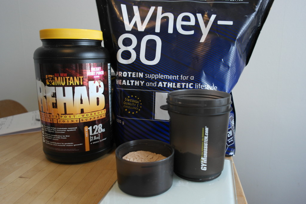 Rehab + Whey 80 Post Workout
