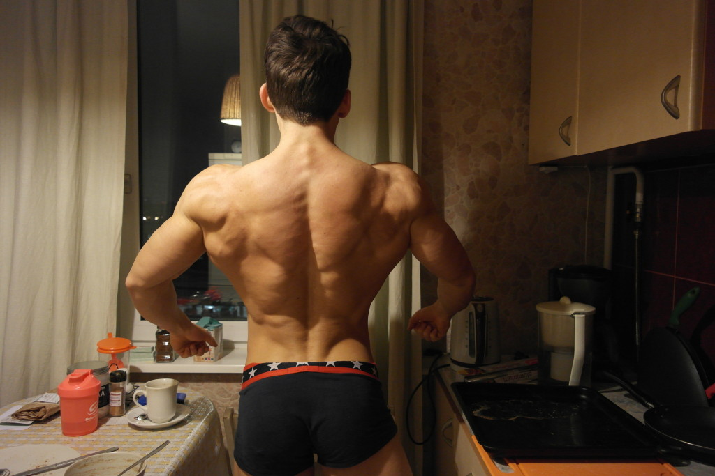 Back pose on thursday evening