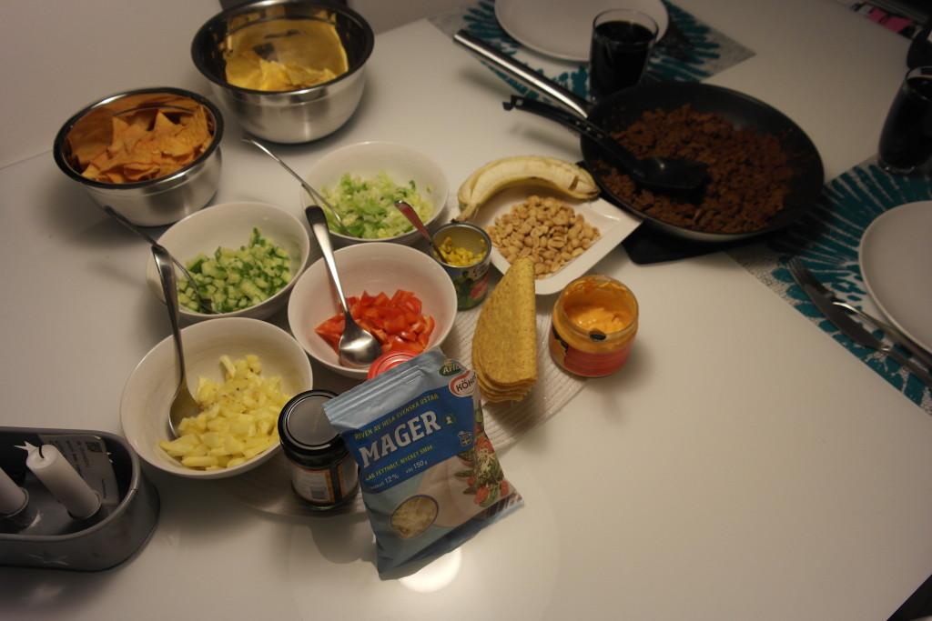 swedish taco ingredients