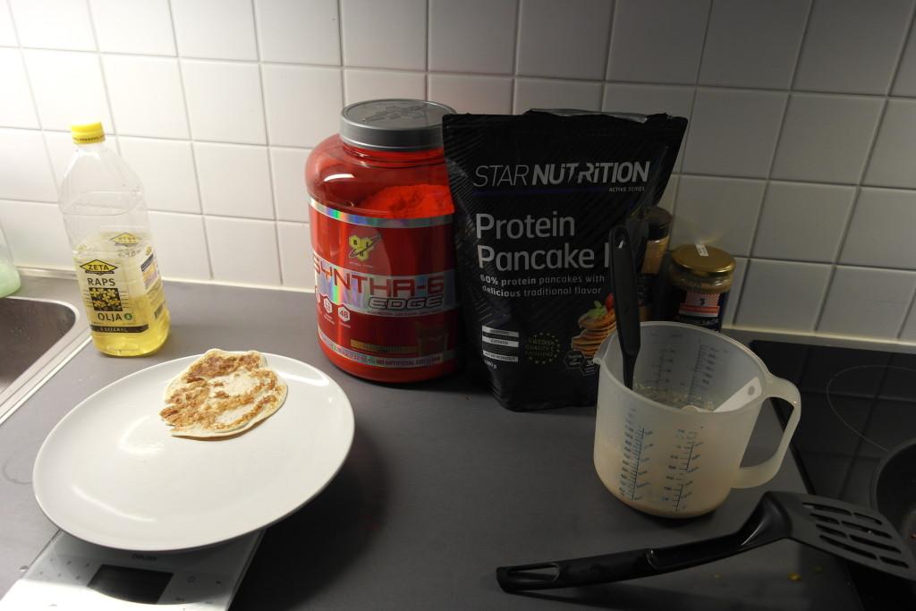 make protein pancakes