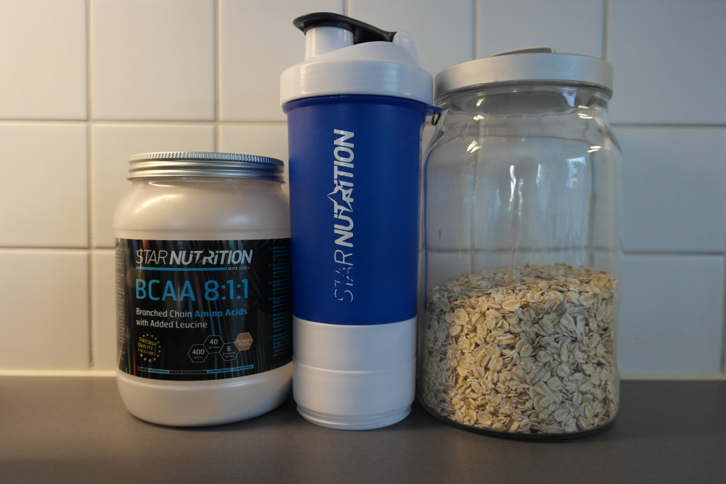 Perfect fuel! Favourite bcaa and oats!