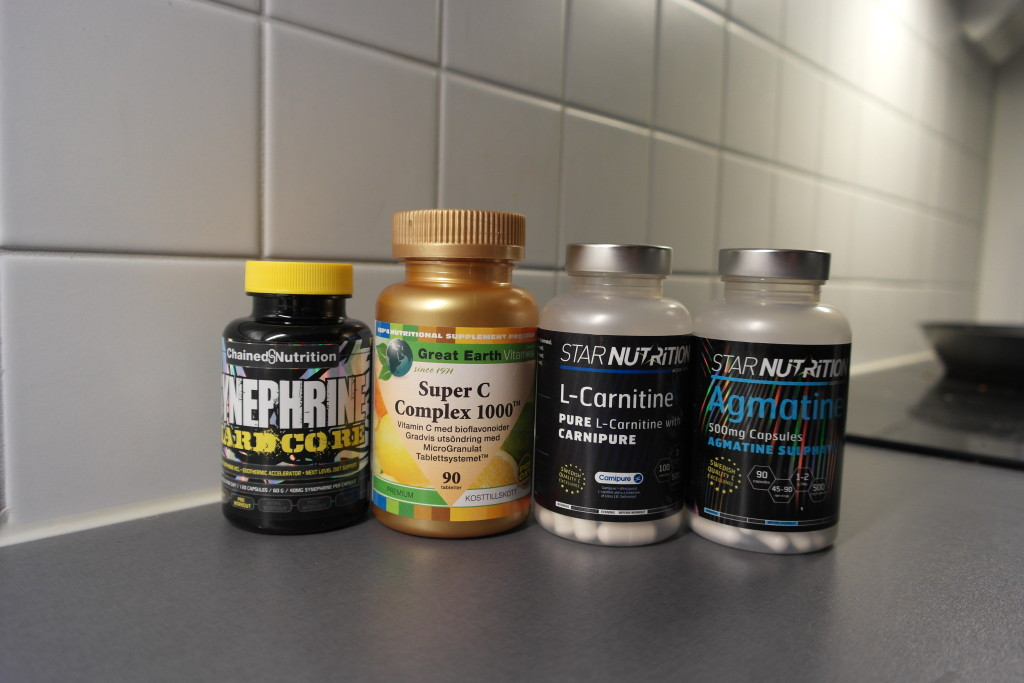 synephrine c-vitamin complex l-carnitine agmatine