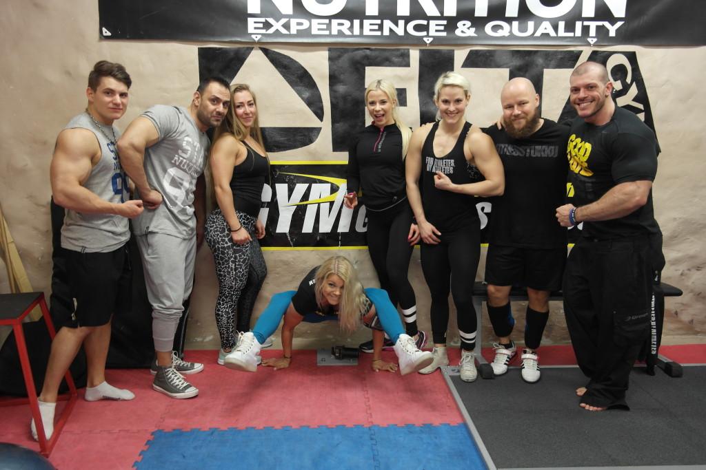 Team Gymgrossisten på Delta Gym 2016